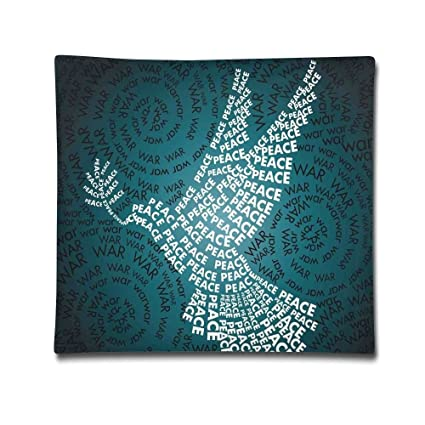 Amazon Isjiqnsq Unisex Dove Symbol Of Peace Words Over Stop The
