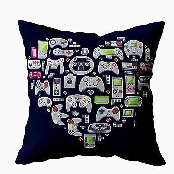 Amazon.com: Tomkey - Funda de almohada con cremallera oculta ...