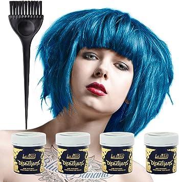 La Riche Directions Colour Hair Dye 4 Pack (Lagoon Blue ...