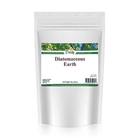 Alimentos grado diatamaceous tierra polvo 2 libras, Natural repelente de insectos, extraíble