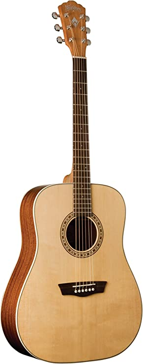 Washburn 6 String Acoustic Guitar (WD7S-A)