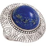 Silpada 'Peruvian' Lapis and Sterling Silver Ring