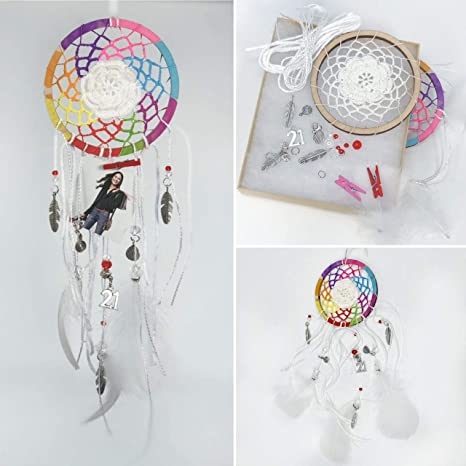 Amazon Com Dream Catcher Kit For Adults Diy Craft Kits Photo