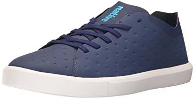 native Men's Monaco Low CT Fashion Sneaker, Regatta Bluect/Shell White, ...