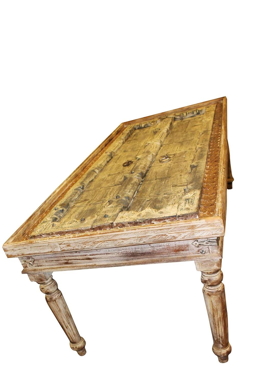 Amazon.com: Mogul - Mesa de comedor de madera maciza ...