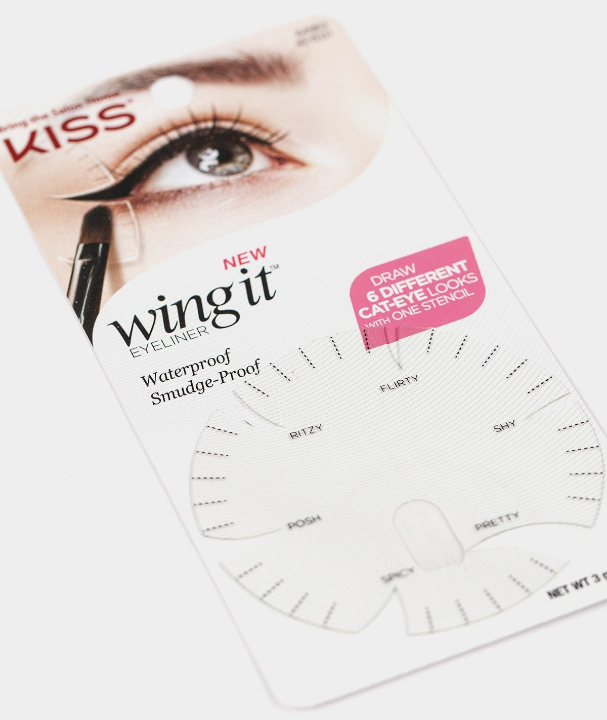 Amazon : I Envy By Kiss Wing It Gel Eyeliner With Stencil  Black :  Beauty
