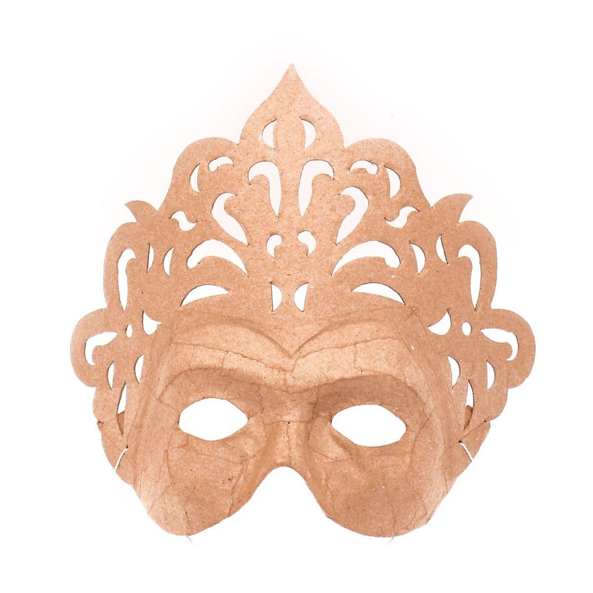 décopatch Mache Mask Princess Brown Decopatch AC288O