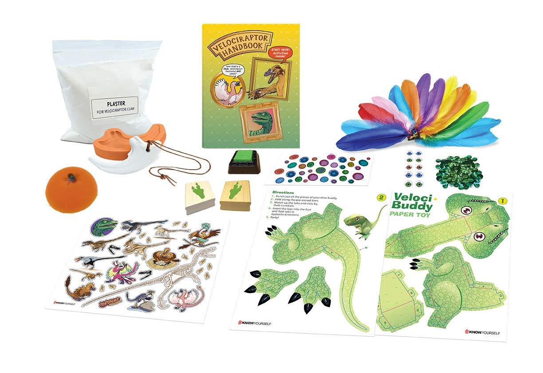 23573dfd905d5 Amazon.com  Dr. Bonyfide s Know Your Dinosaur  Velociraptor Edition  Toys    Games