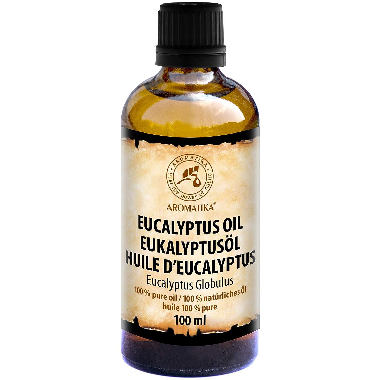 Olio Essenziale di Eucalipto 100ml - Eucalyptus Globulus - 100% Puro e Naturale - uso per il Sollievo Dalla Tensione - Buon Umore - Relax - Rinfreschi - Profumatori per la Casa - Best for Beauty - Benessere - Aromaterapia - Massaggio - SPA - Bagno - Sauna
