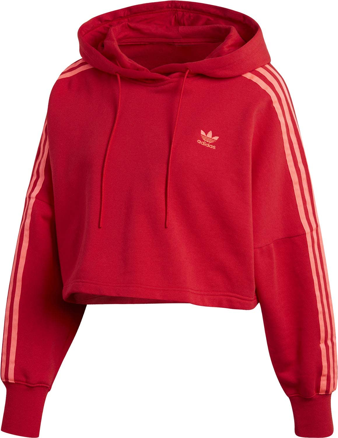pull adidas rouge femme
