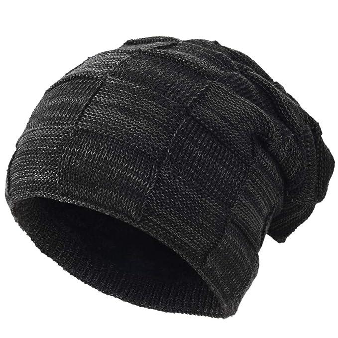 VBIGER Beanie Cappello in Maglia Cappelli Invernali Berretti in maglia  Cappello Invernale Beanie 461627a9846f