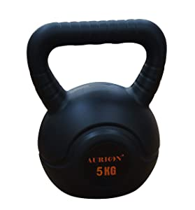Aurion Kettle-bell 5 KG Set Perfect for body workout