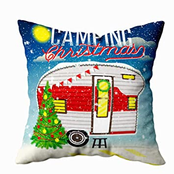 Amazon.com: EMMTEEY - Funda de almohada decorativa para sofá ...