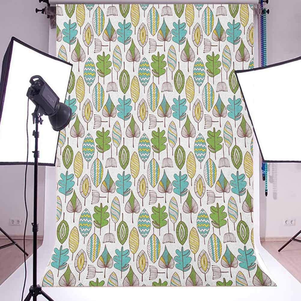 7x10 FT Tropical Vinyl Photography Background Backdrops,Bamboo Stems in Minimalist Art Effects Exotic Hippie Hawaiian Style Nature Background for Selfie Birthday Party Pictures Photo Booth Shoot