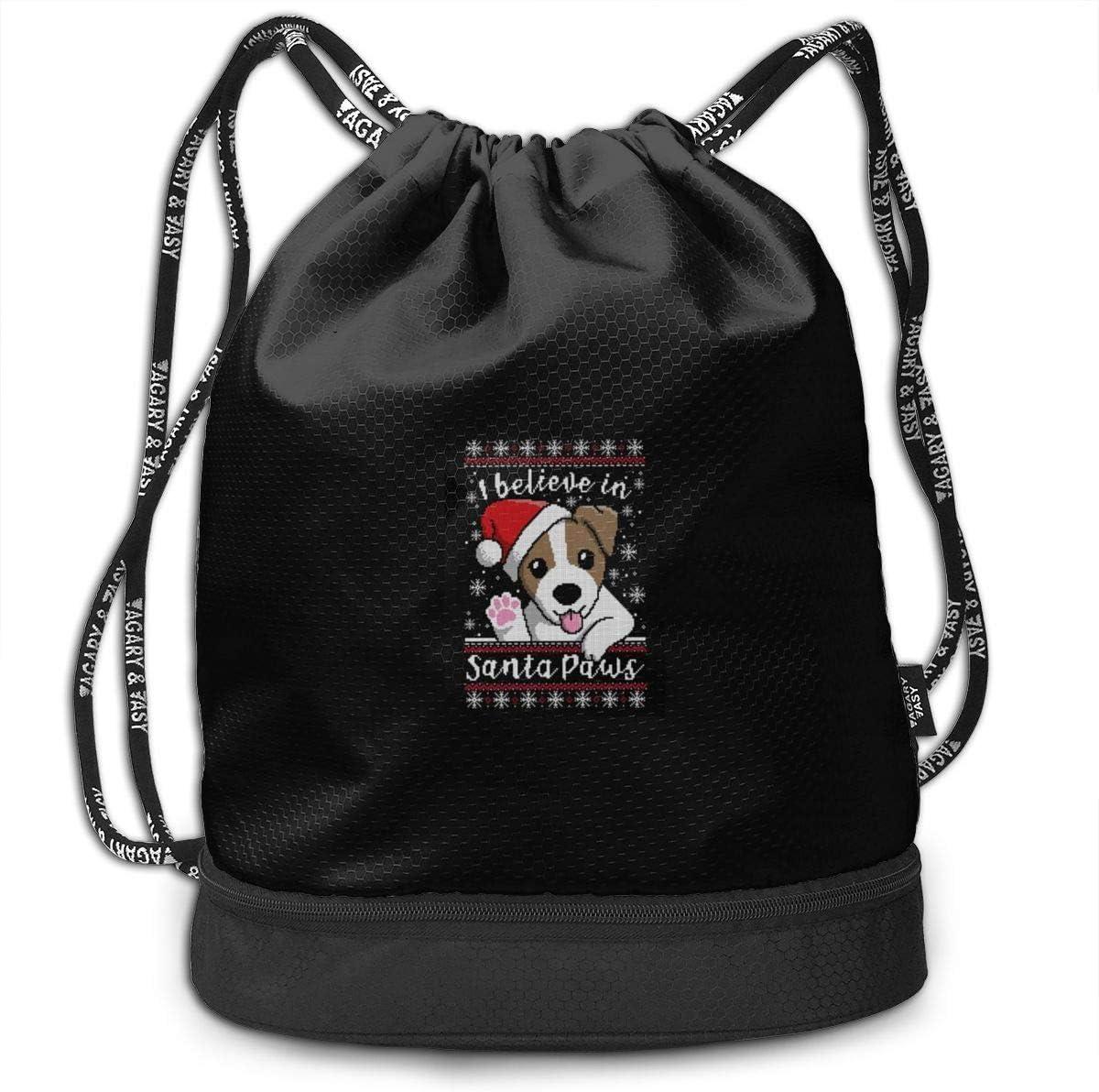Santa Paws Multifunctional Bundle Backpack Shoulder Bag For Men And Women