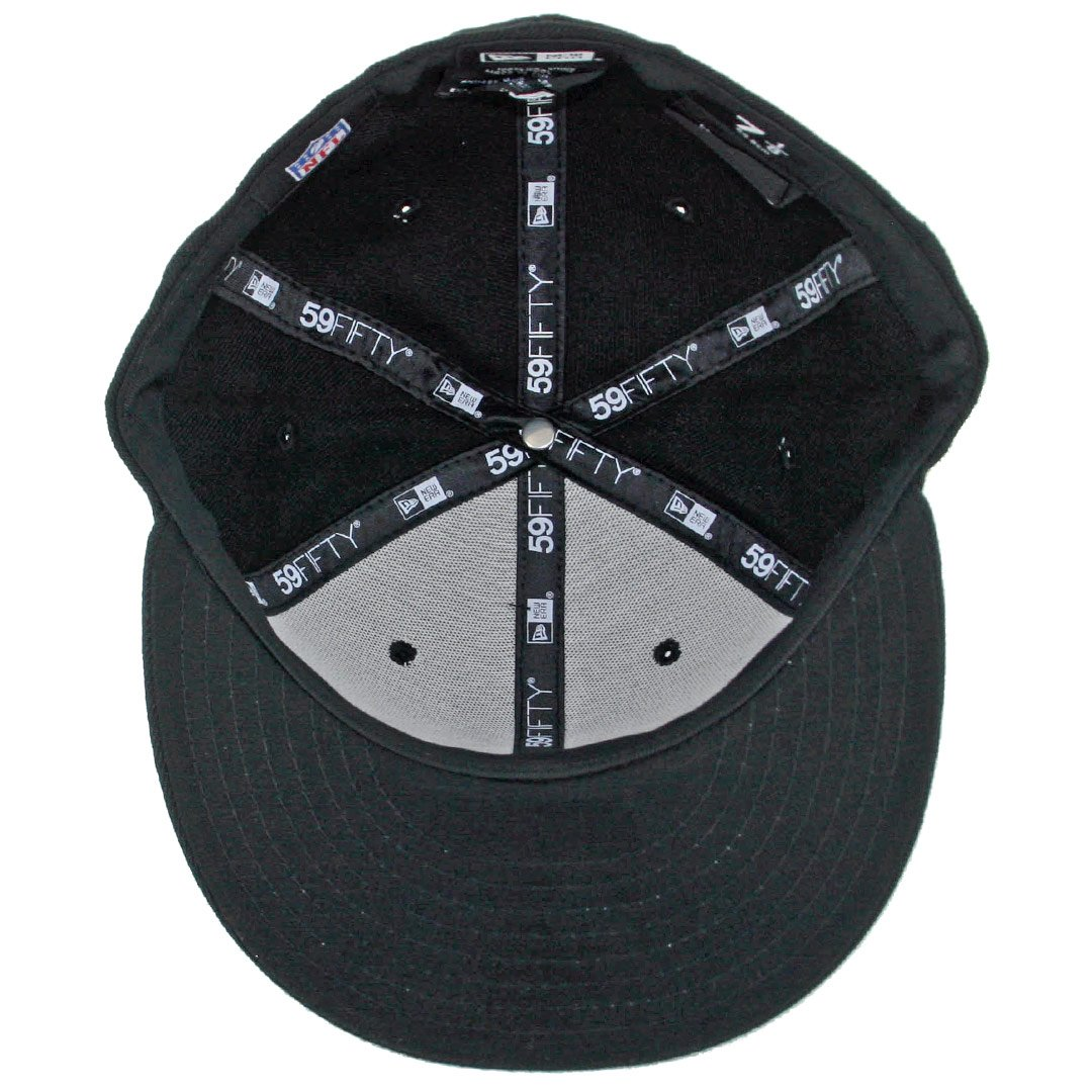 finest selection 5500b 3eef3 Amazon.com   New Era 59Fifty San Diego Chargers BK BK WH Fitted Hat (Black  White) Cap   Sports   Outdoors