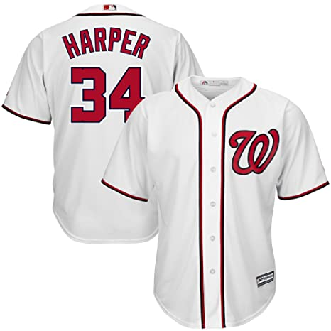 548c6eef6 Image Unavailable. Image not available for. Color  Bryce Harper  34 Washington  Nationals ...