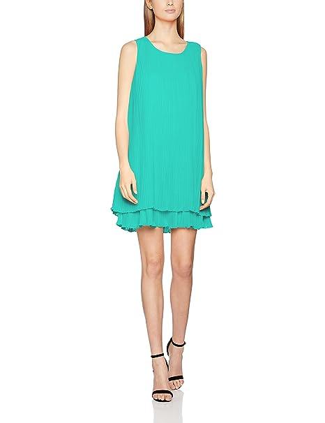 Lola Casademunt Rose, Vestido Casual para Mujer, Verde, Large(Tamaño del Fabricante