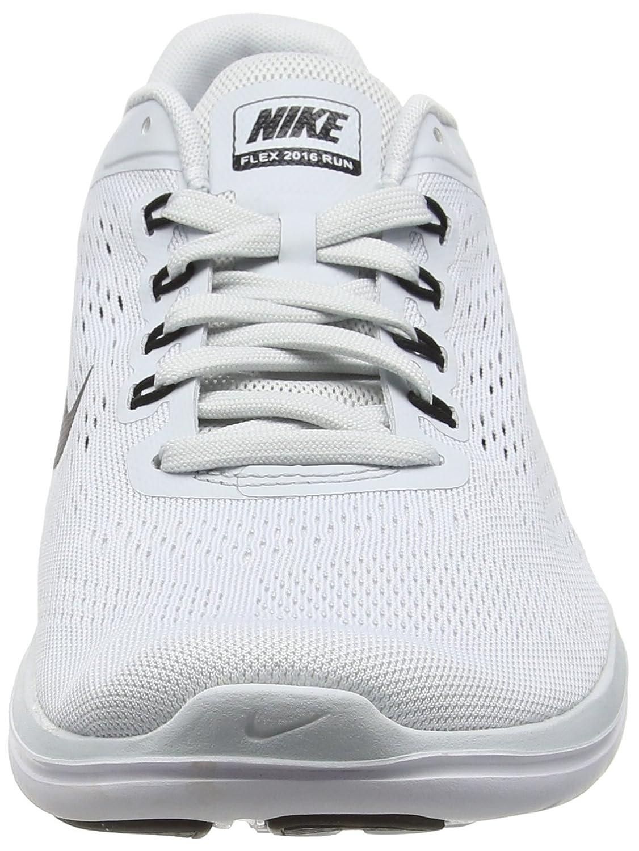 NIKE Men's Flex 2014 RN Running Shoe B0147W1ZJ6 11.5 D(M) US|Pure Platinum/White/Black