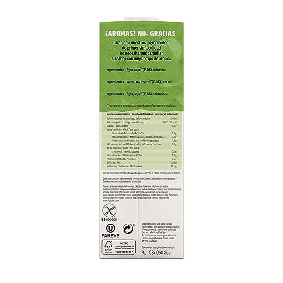 Yosoy Bebida Ecológica de Soja - Caja de 6 x 1L - Total: 6L