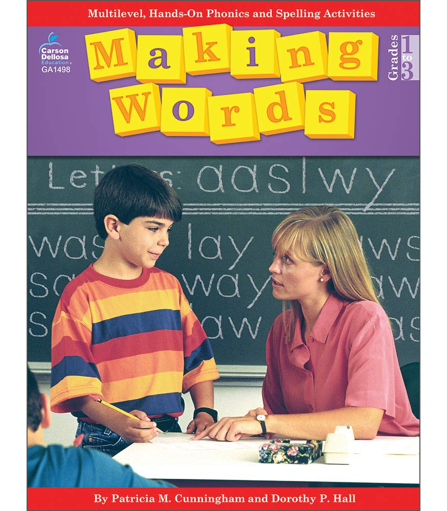 Making Words  Multilevel Hands On Developmentally Appropriate Spelling And Phonics Activities