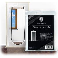Dust Keeper Stofwerende deur met ritssluiting - Het kwaliteitsproduct onder de stofdeuren bij elke renovatie, bouwdeur…