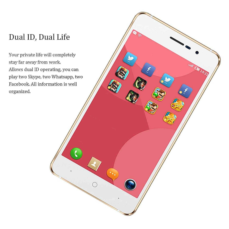 Amazon com: Unlocked Cell Phones, DOOGEE X10 Dual SIM