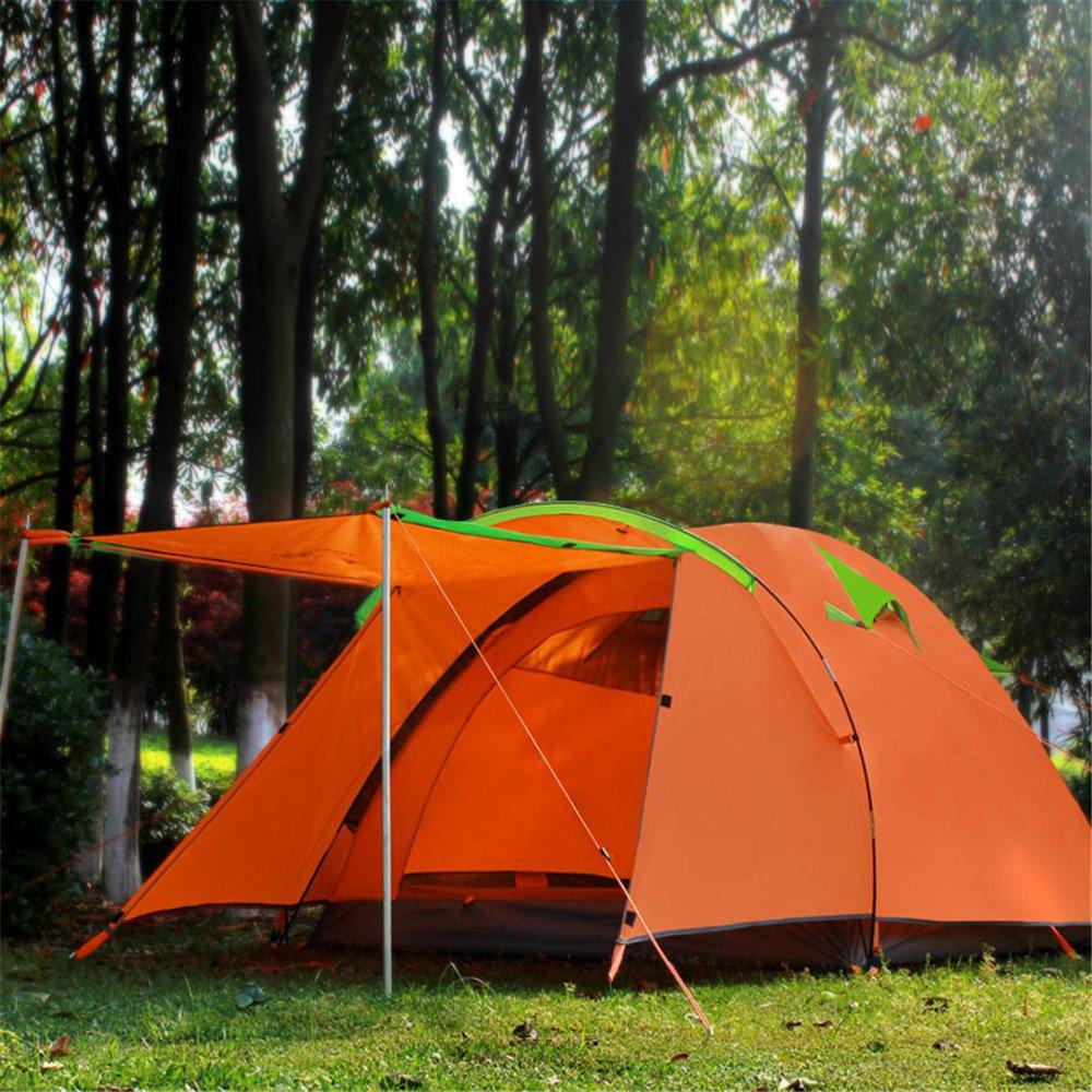 Kaxima Outdoor-Regensturm Gale Doppeltür großes Zelt