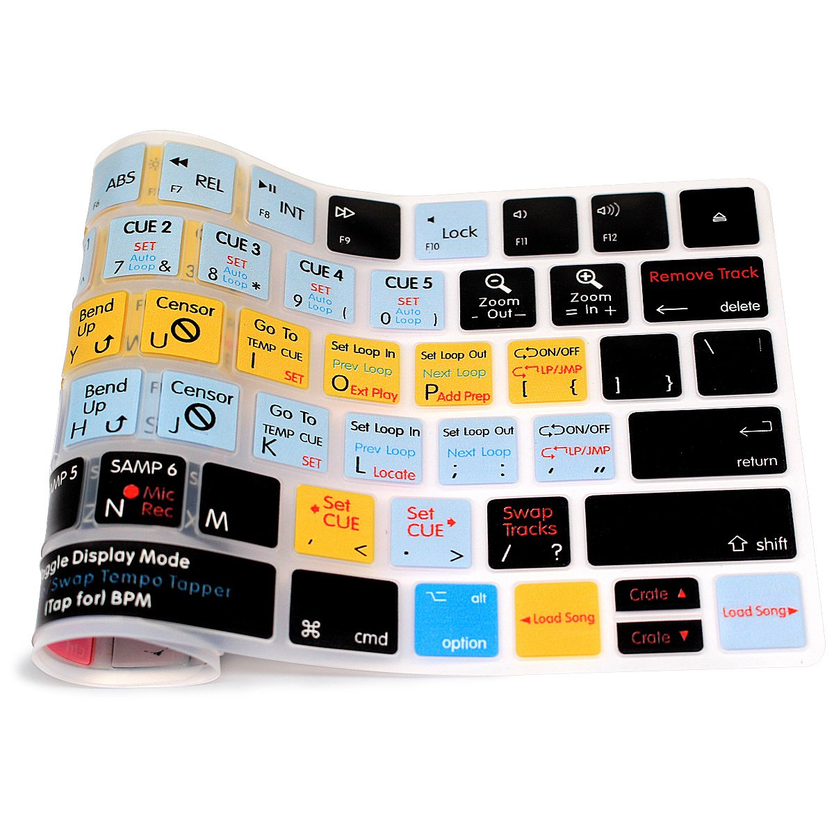 with US Layout HRH Adobe Premiere Pro CC Functional Shortcut Hotkey Keyboard Cover Silicone Skin for Apple Magic Keyboard MLA22LL//A