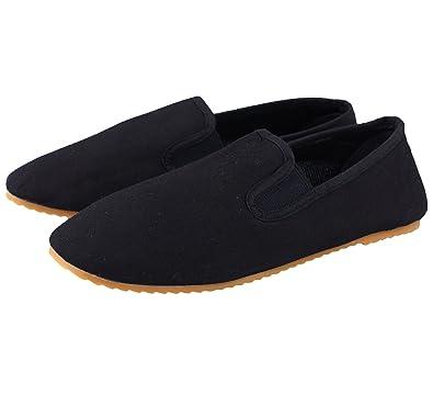 BAY® Kung Fu Slipper Schuhe Schwarz Tai Chi tsun Beijing mit ... 7b8361e574