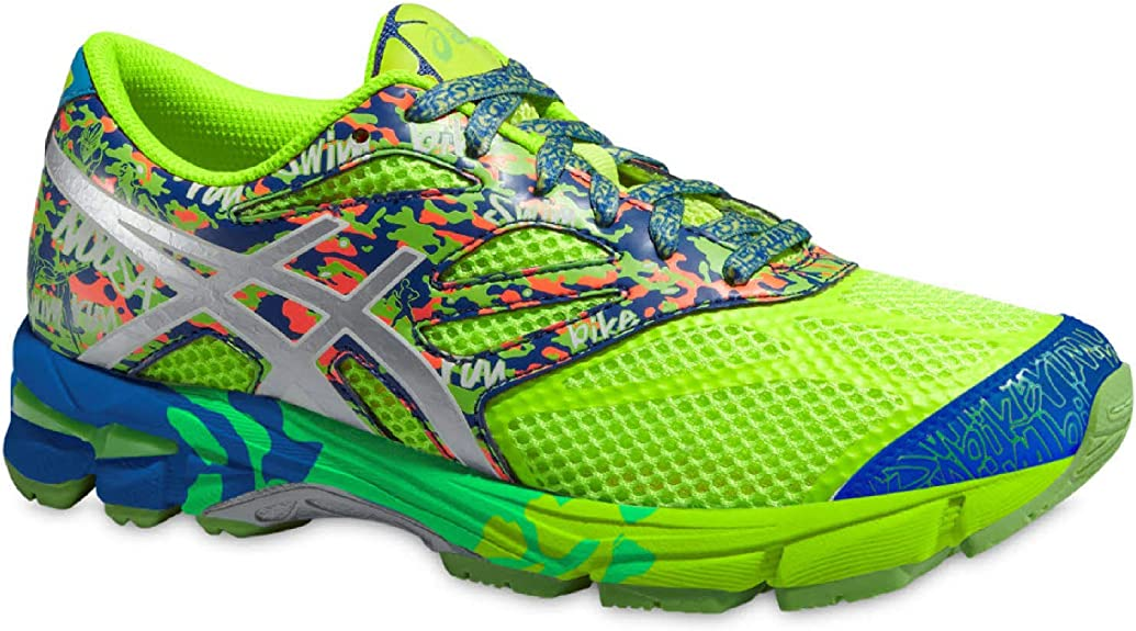 Asics - Zapatillas de running para niño Amarillo amarillo neón, color Amarillo, talla EU 37,5 - US 5: Amazon.es: Zapatos y complementos