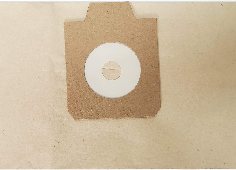 EZ SPARES Replacement for ELECTROLUX Bags,UZ930 NILFISK GD930,Paper Dust Bag OEM#1402666010 12pcs