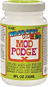 Mod Podge Wash-Out for Kids (8-Ounce), CS11294