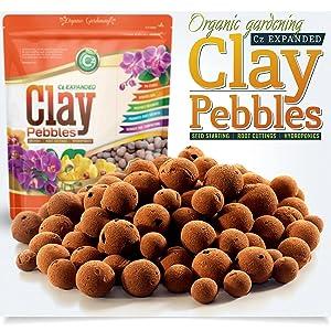 Organic Expanded Clay Pebbles Grow Media