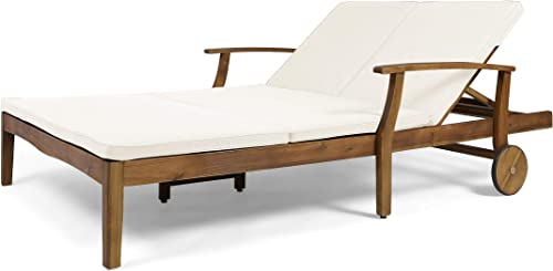Great Deal Furniture Samantha Double Chaise Lounge