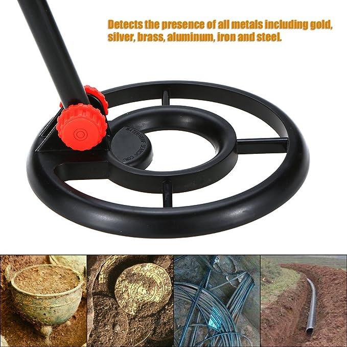 KKmoon Detector de metales a prueba de agua Fuera de búsqueda de metales Detector de monedas digital de oro para niños/Hogar: Amazon.es: Bricolaje y ...