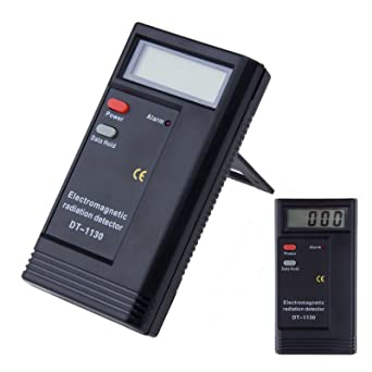 Kasstino Detector de radiación electromagnética caliente EMF Meter Tester Ghost Equipo de caza Digital Tester