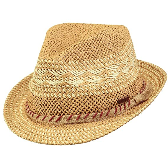 a830349d Barts Hats Venture Trilby Hat - Natural Medium/Large: Amazon.co.uk ...