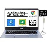 "Acer Chromebook 314 Laptop, 14"" FHD NonTouch Display, Intel Celeron N4000, Intel UHD Graphics 600, 4GB Memory, 64GB eMMC, Chr"
