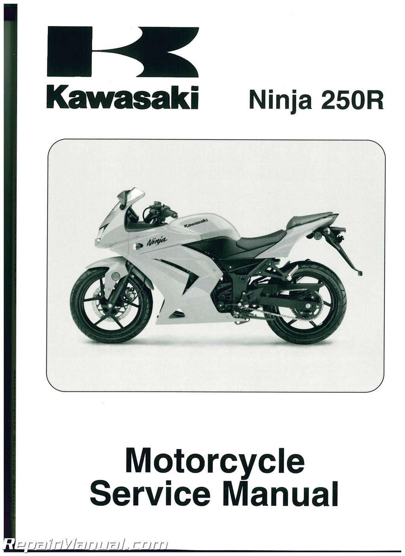 99924-1391-04 2008-2011 Kawasaki EX250J Ninja 250R Service ...