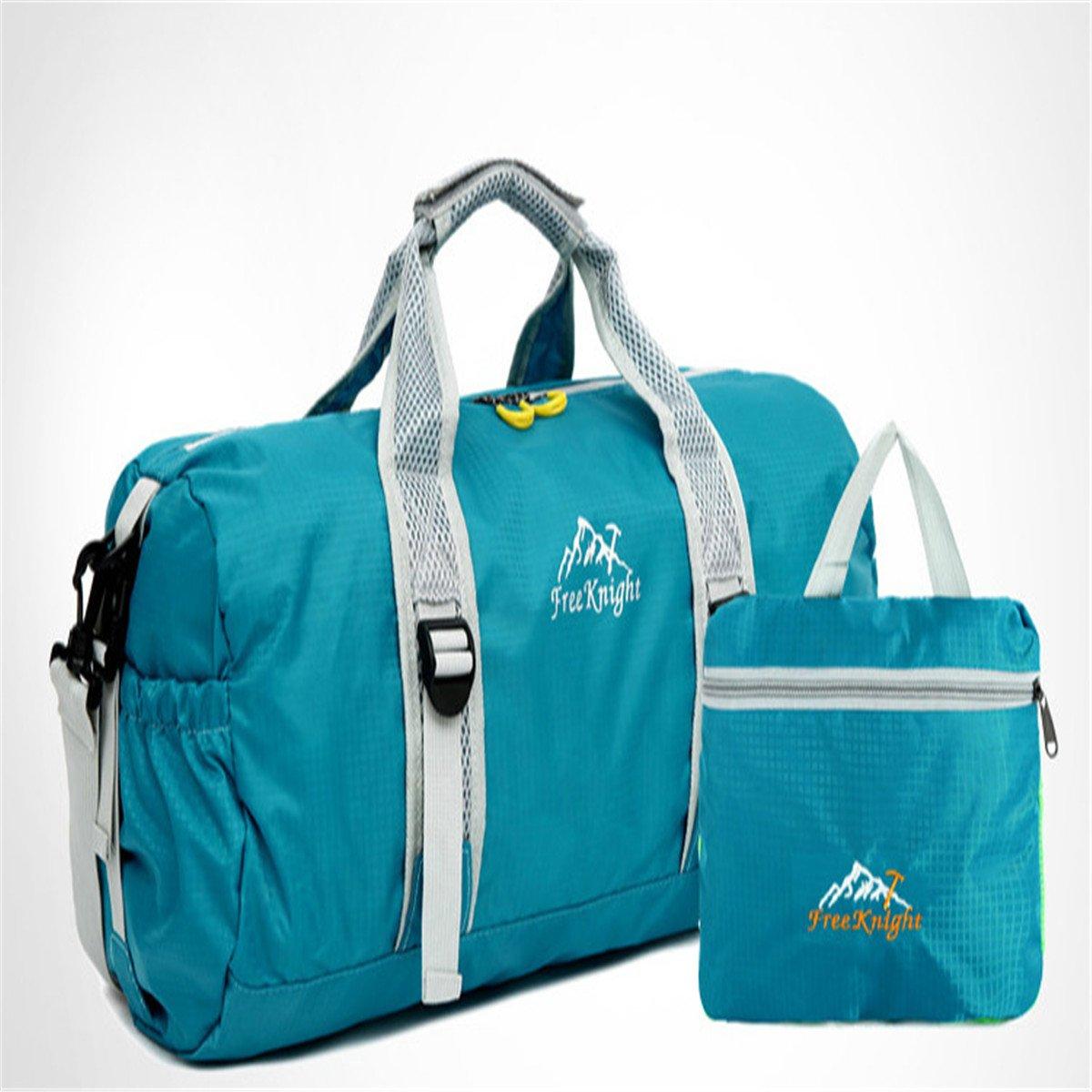Unisex Travel Duffel Bag Waterproof Fashion Lightweight Large Capacity Portable Luggage Bag Canadian American Flag