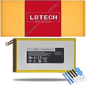 """LBTECH P706T Compatible Laptop Battery Replacement for Dell Venue 8 T02D 3830 8"""" Tablet 0CJP38 3.7V 15.17Wh"""
