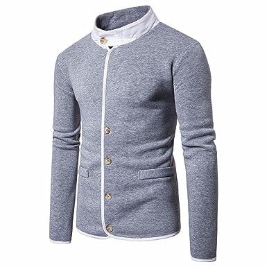 0b971757a82 Longra Sweat-Shirts Homme Garçon Manches Longues Pull Homme Veste Printemps  Été Homme Tee Shirt