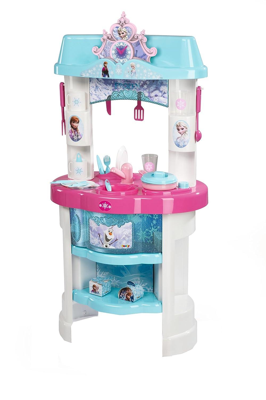 Kinderküchen Vergleich - Smoby Frozen Küche - Eiskönigin Spielküche