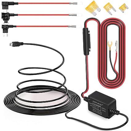 Marvelous Amazon Com Dash Cam Hardwire Kit Mini Usb Hard Wire Car Charger Wiring Cloud Toolfoxcilixyz