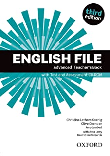 English File 3rd Edition Advanced. Students Book + Workbook with Key Pack English File Third Edition: Amazon.es: Latham-Koenig, Christina, Oxenden, Clive, Lambert-Thizy, Dominique: Libros