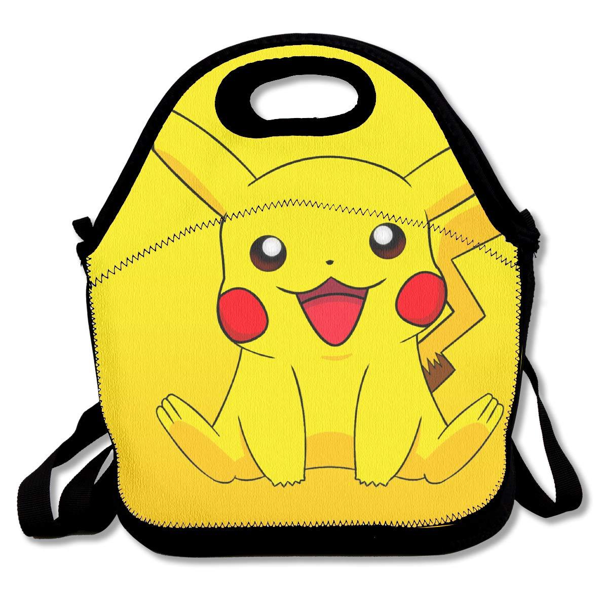Pokemon Poke Ball Insulated Lunch Cooler Bag School Sports Gym Work Xams Gift