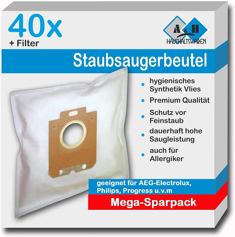 10 Etana Staubsaugerbeutel geeignet für AEG Gr 201 M Größe 201 M Beutel