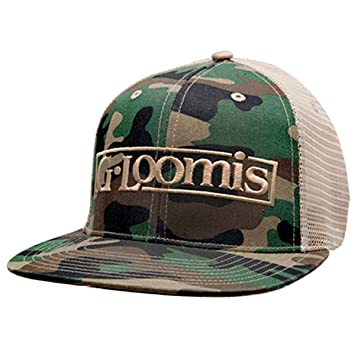 cd5bdd5d0 G. Loomis Flatbill Camo Hat: Amazon.co.uk: Sports & Outdoors