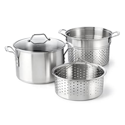Amazon Calphalon Classic Stainless Steel 8 Quart Stock Pot With
